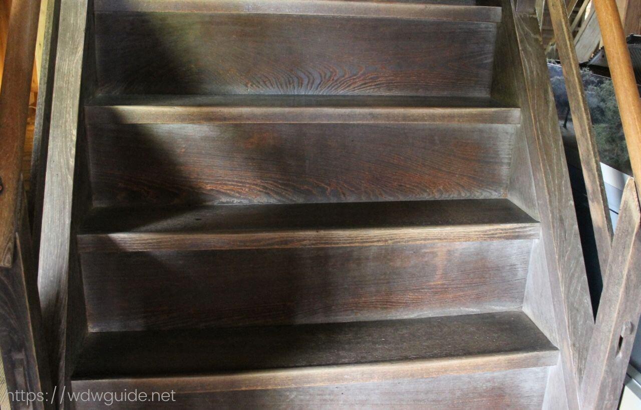 高知城内の階段