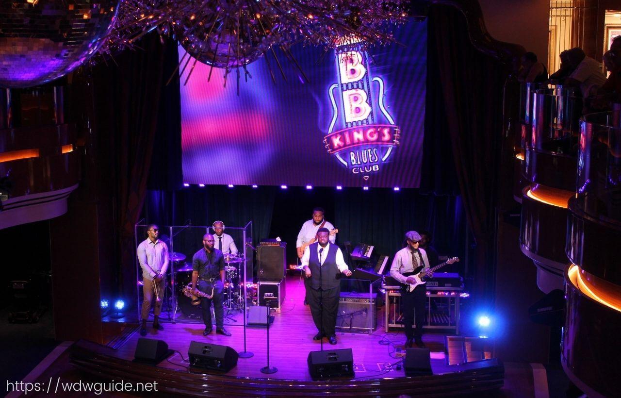コーニングスダムのBBキングステージ