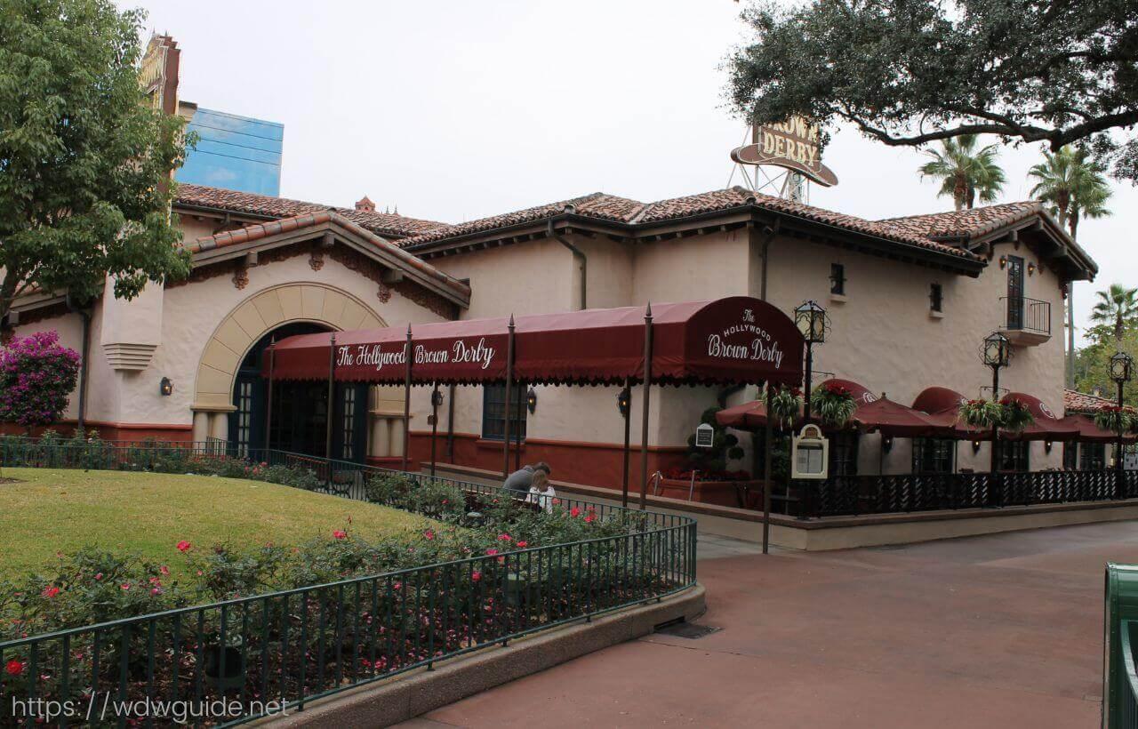WDWのハリウッドスタジオのハリウッド・ブラウン・ダービー