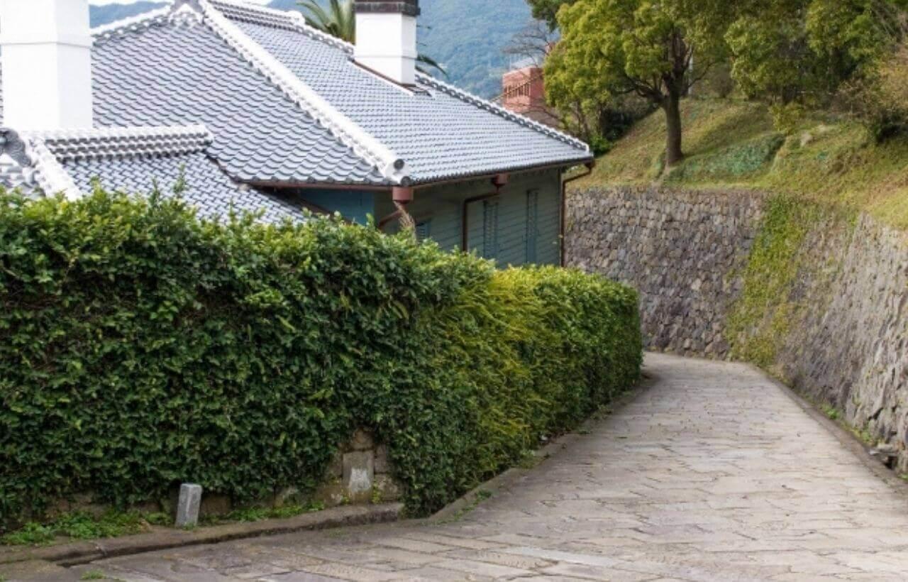 長崎のオランダ坂と東山手甲十三番館